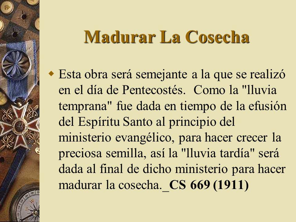 Madurar La Cosecha