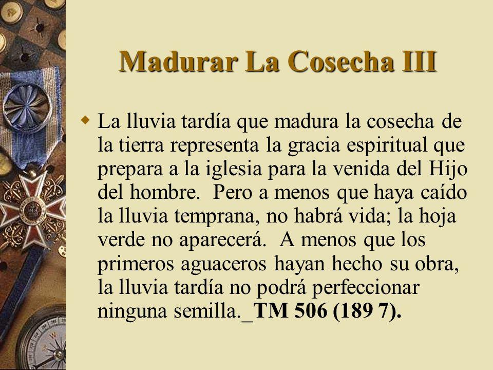 Madurar La Cosecha III