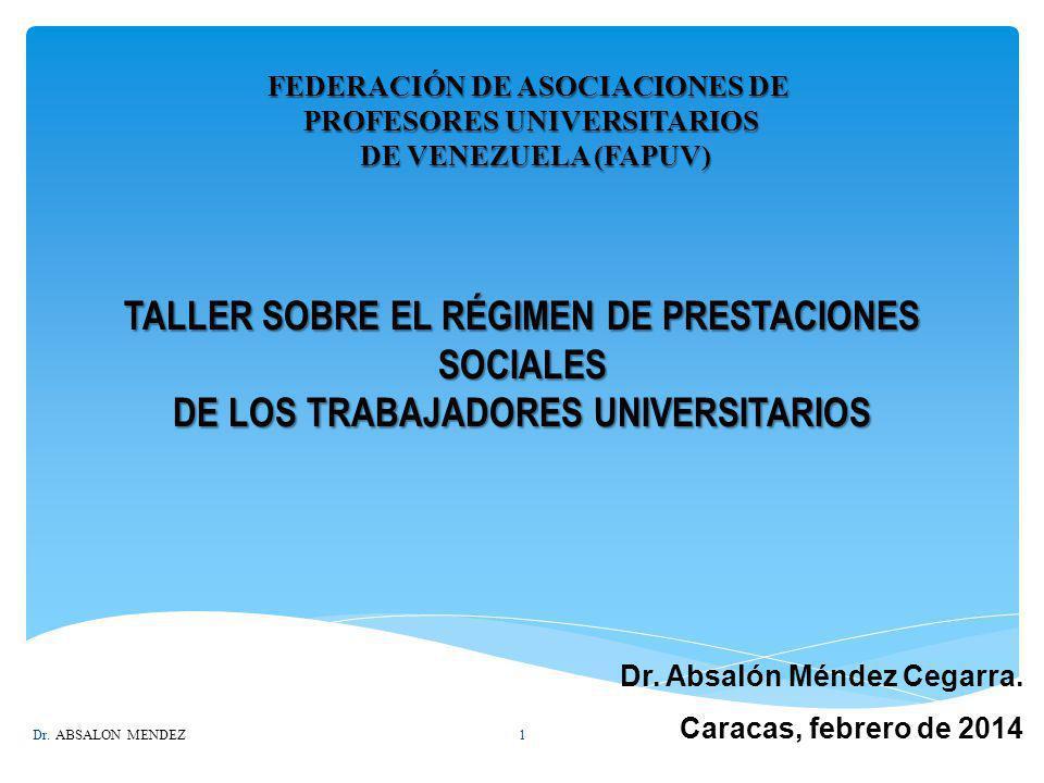 FEDERACIÓN DE ASOCIACIONES DE PROFESORES UNIVERSITARIOS