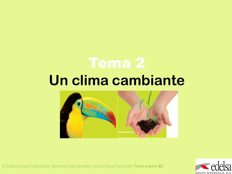 Tema 2 Un clima cambiante