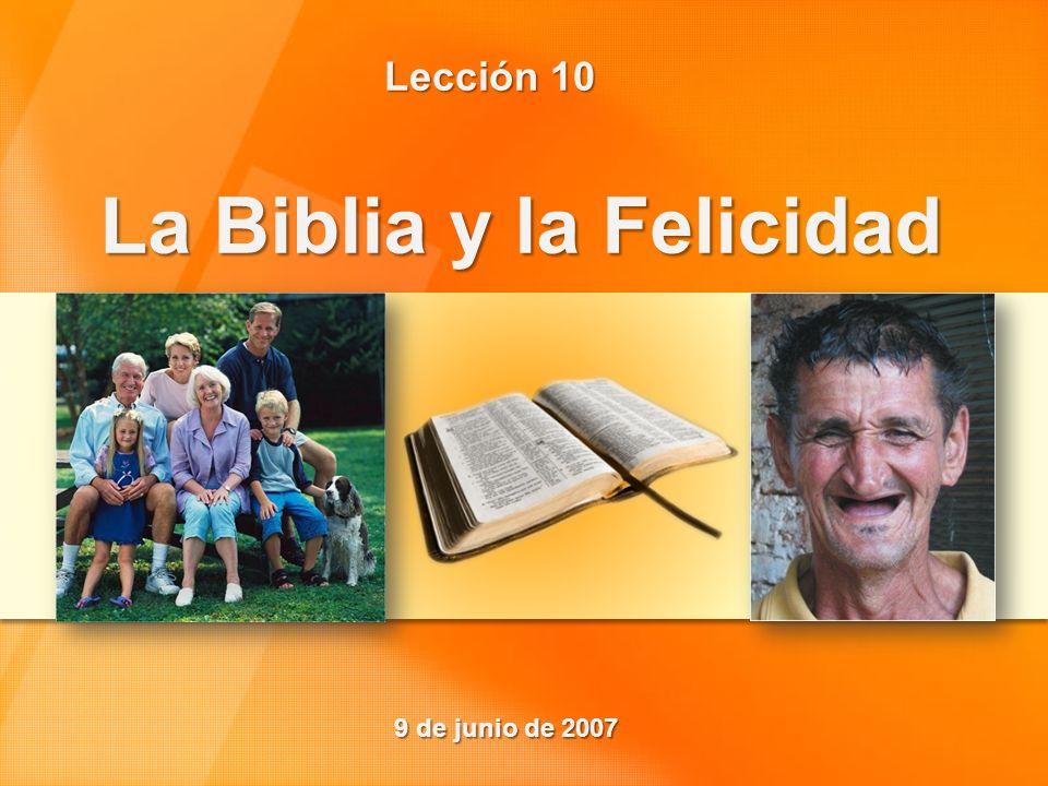 La Biblia y la Felicidad