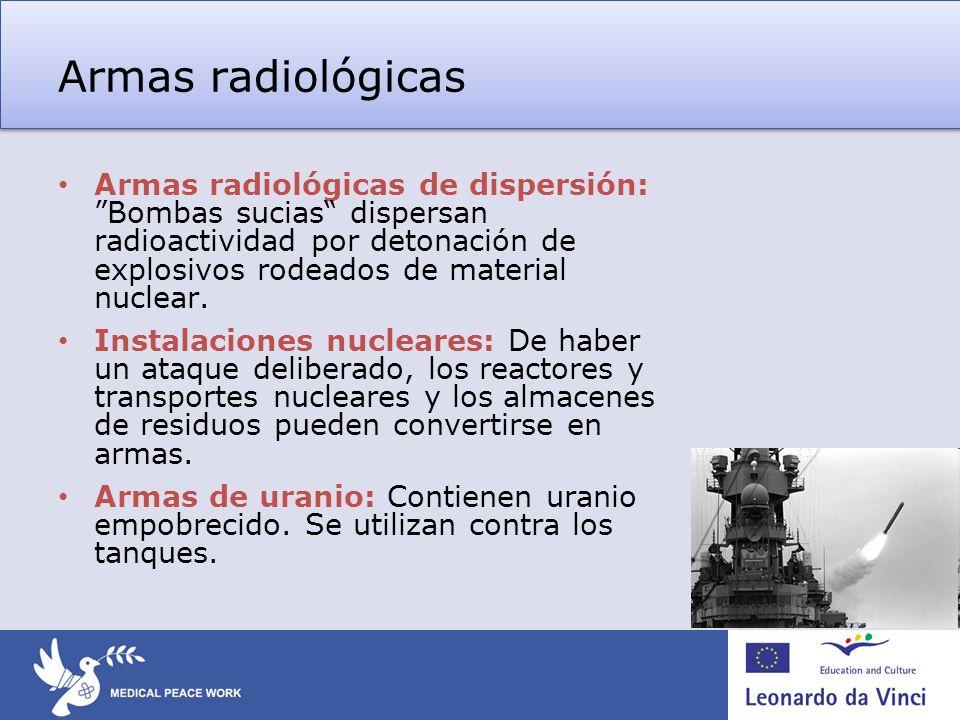 Armas radiológicas