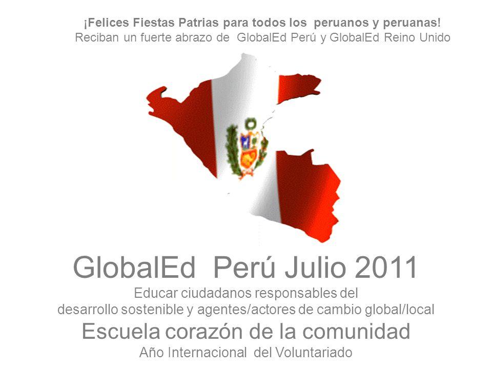 ¡Felices Fiestas Patrias para todos los peruanos y peruanas!