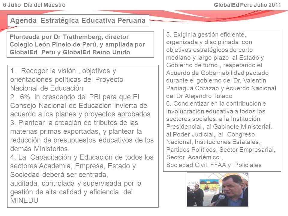 Agenda Estratégica Educativa Peruana