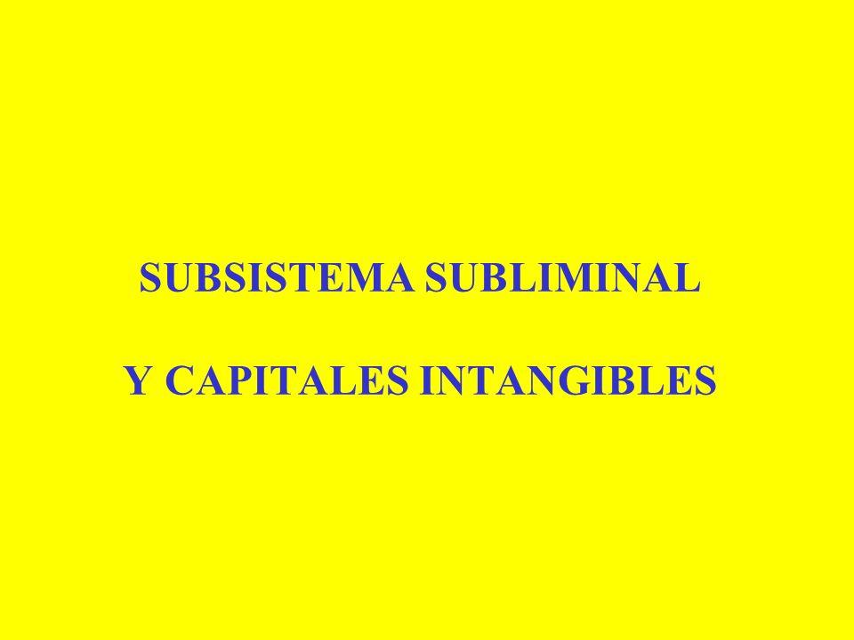 SUBSISTEMA SUBLIMINAL Y CAPITALES INTANGIBLES