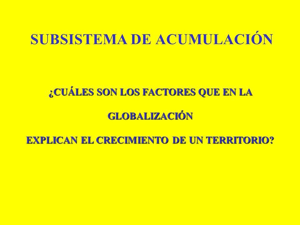 SUBSISTEMA DE ACUMULACIÓN