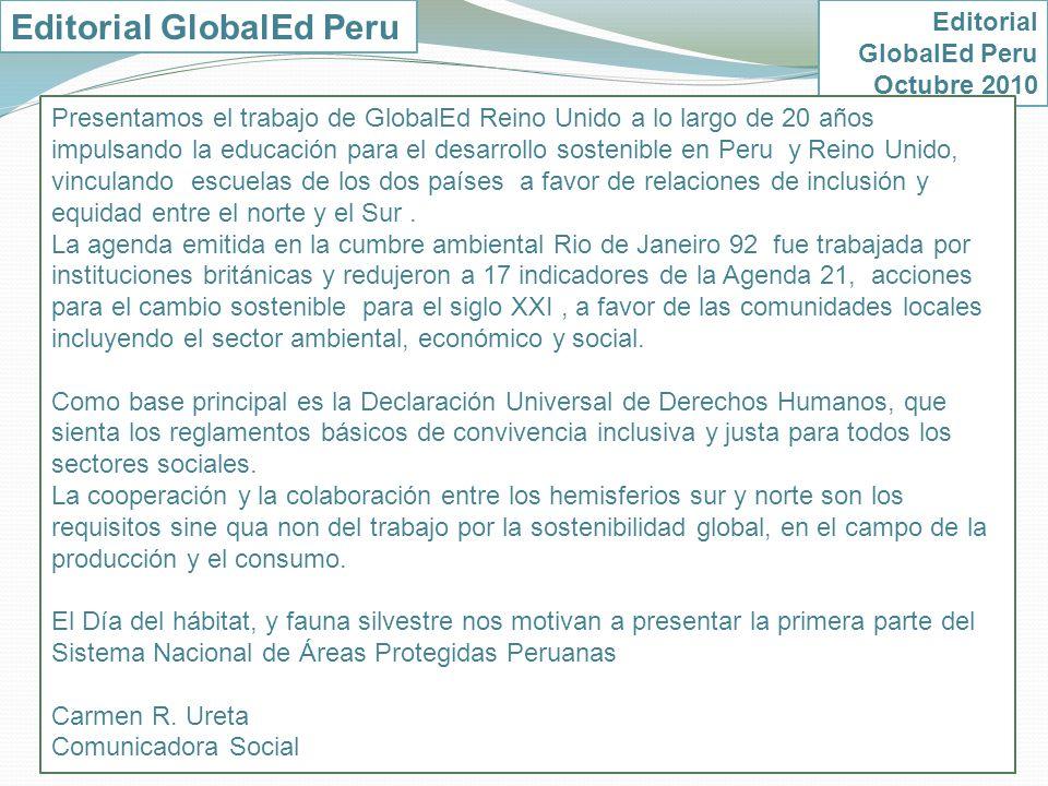 Editorial GlobalEd Peru