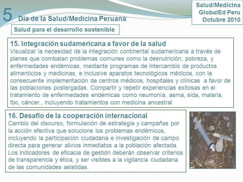 5 Día de la Salud/Medicina Peruana