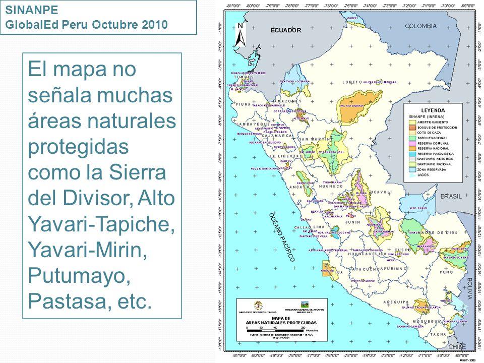 SINANPE GlobalEd Peru Octubre 2010.