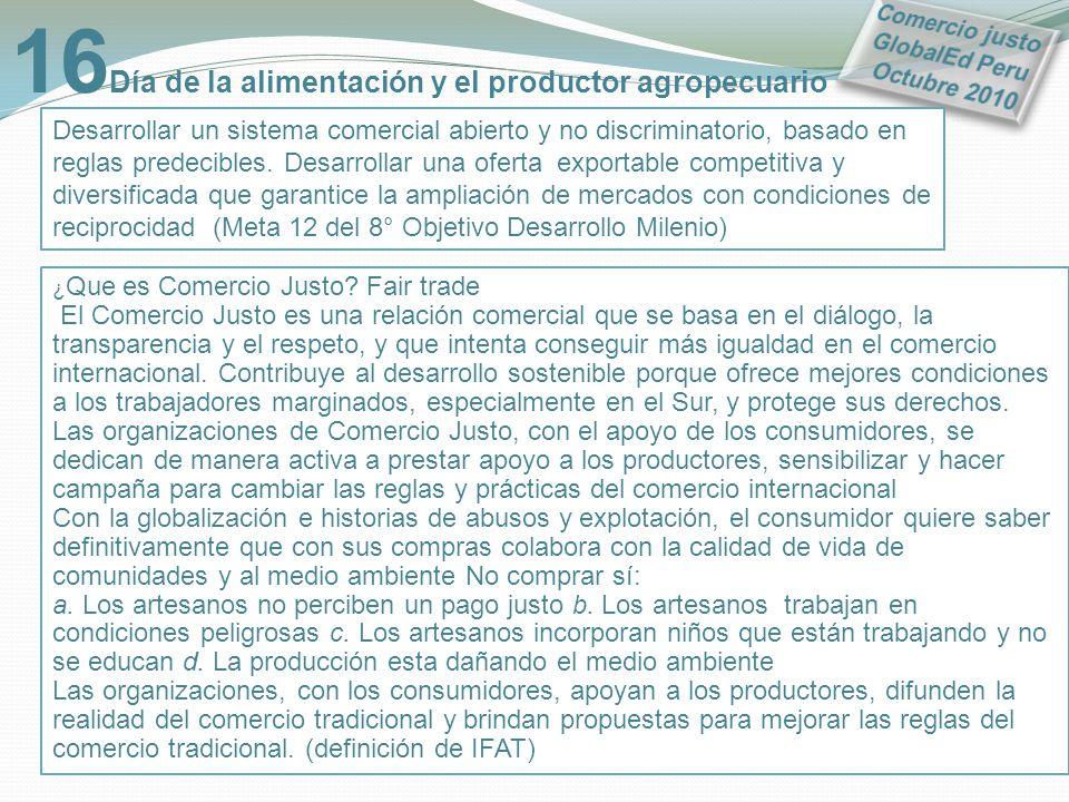 16Día de la alimentación y el productor agropecuario