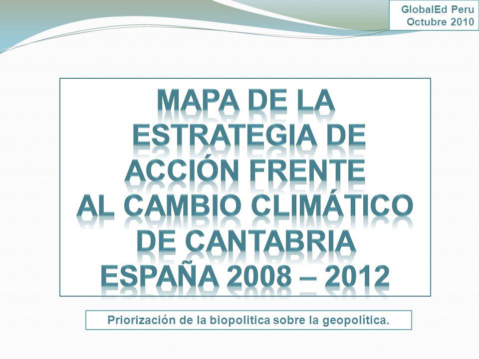 Estrategia de Acción frente al cambio Climático de Cantabria