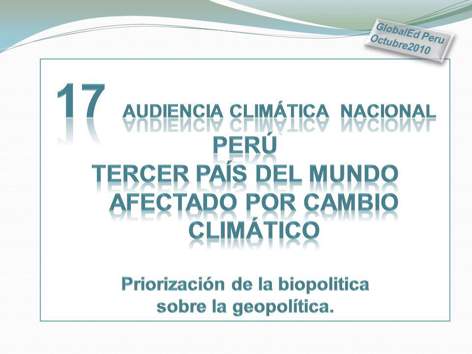 17 Audiencia climática nacional