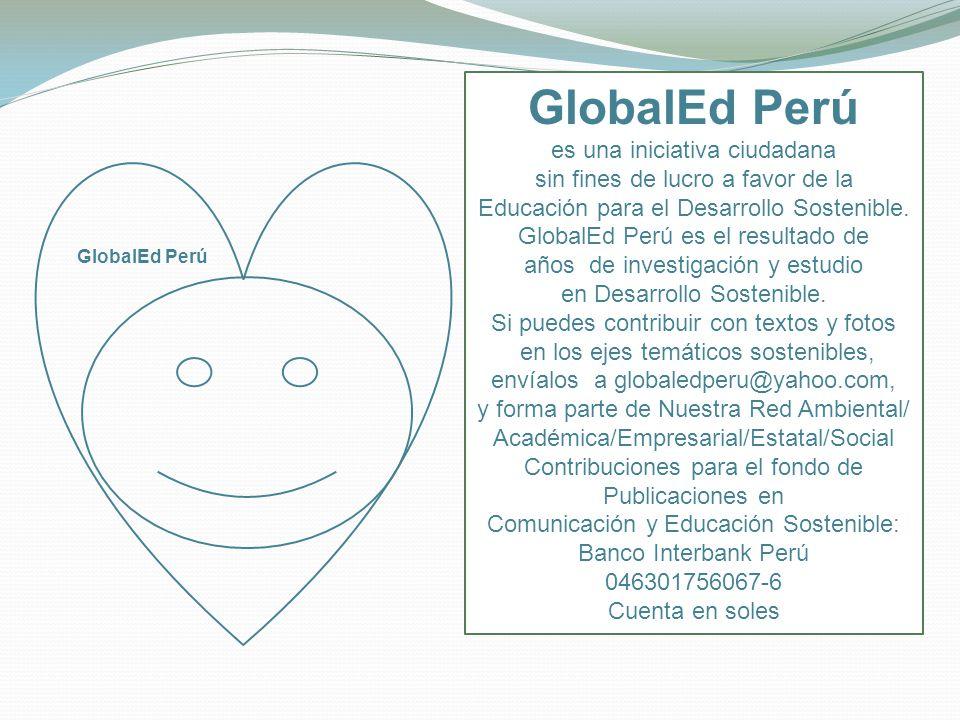 GlobalEd Perú es una iniciativa ciudadana