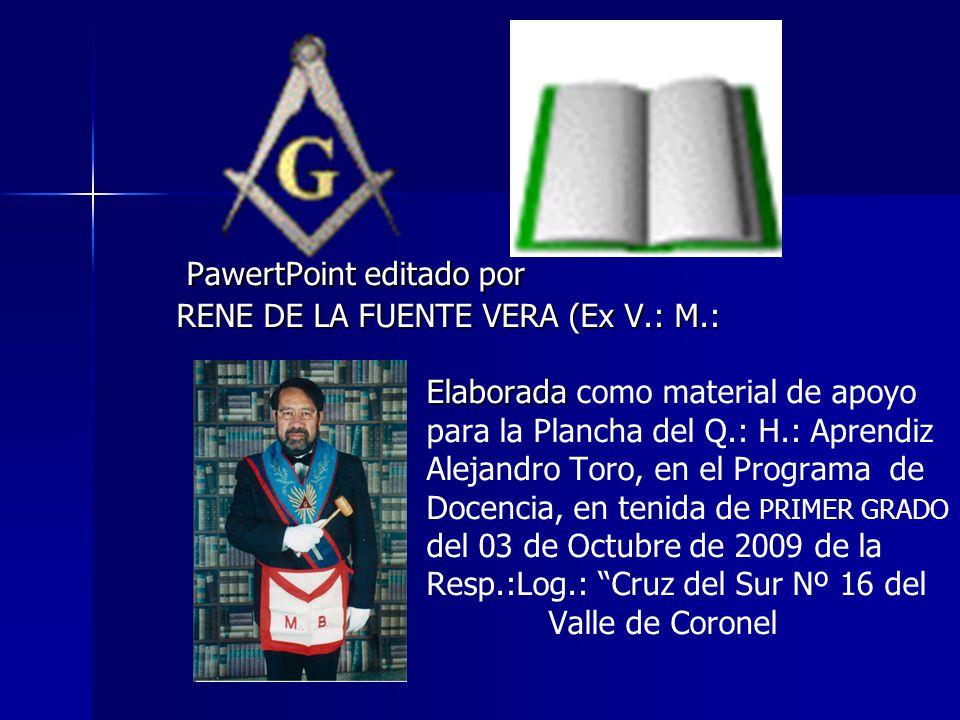 RENE DE LA FUENTE VERA (Ex V.: M.: Elaborada como material de apoyo