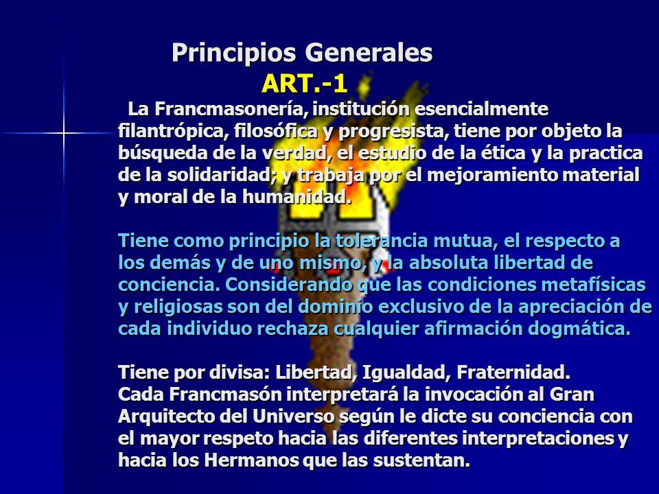 Principios Generales ART