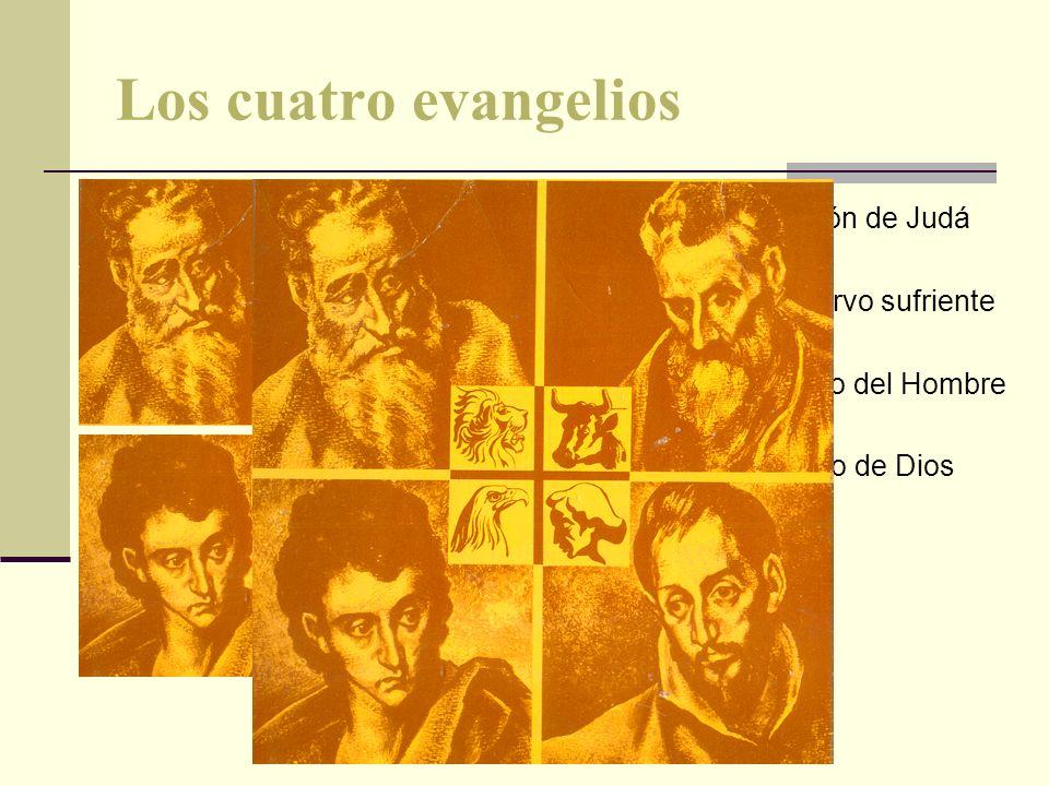 Los cuatro evangelios MATEO El León de Judá MARCOS El siervo sufriente