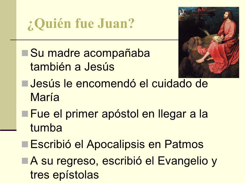 ¿Quién fue Juan Su madre acompañaba también a Jesús