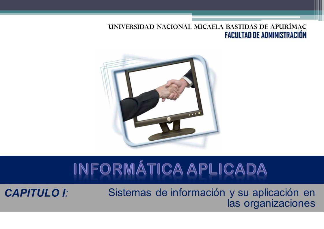 Informática aplicada CAPITULO I: