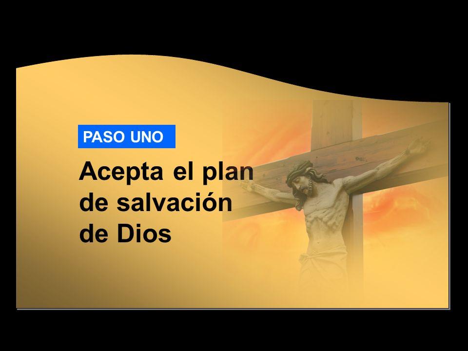 Acepta el plan de salvación de Dios