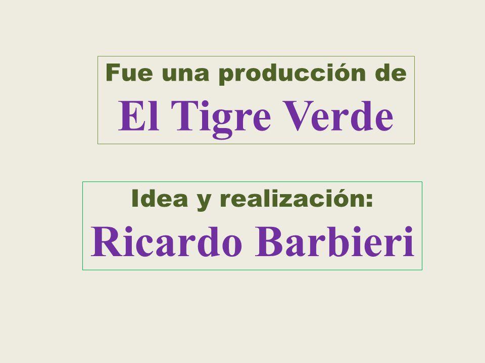 El Tigre Verde Ricardo Barbieri