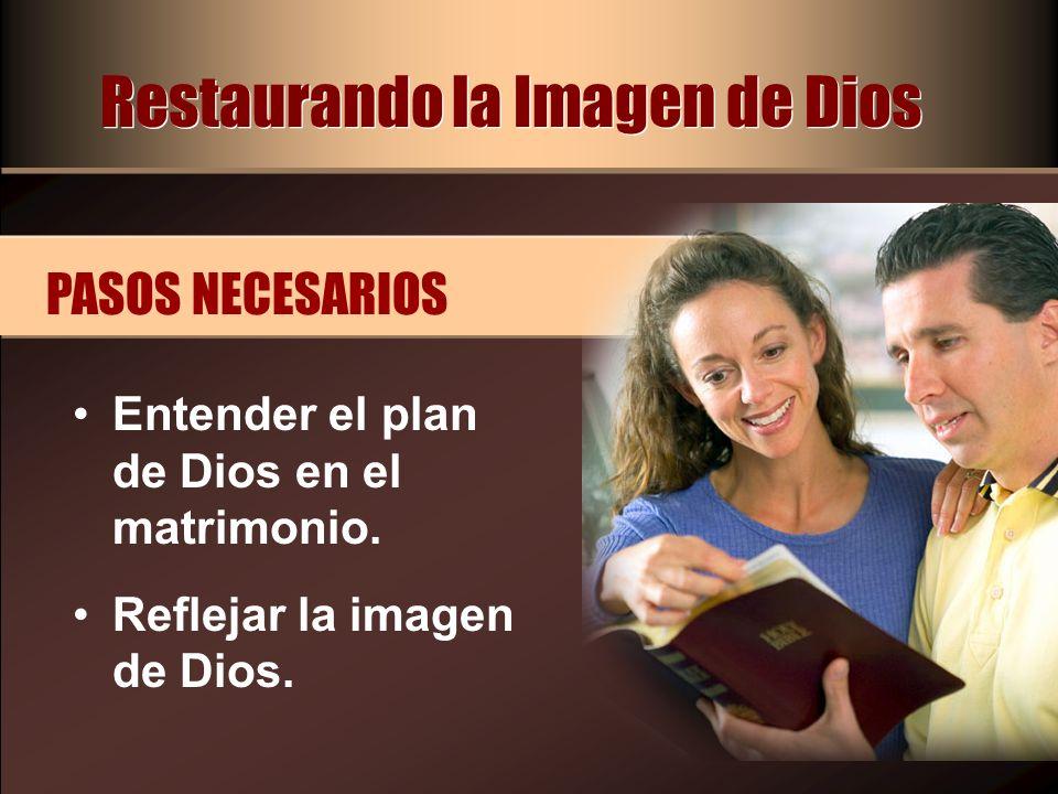 Restaurando la Imagen de Dios