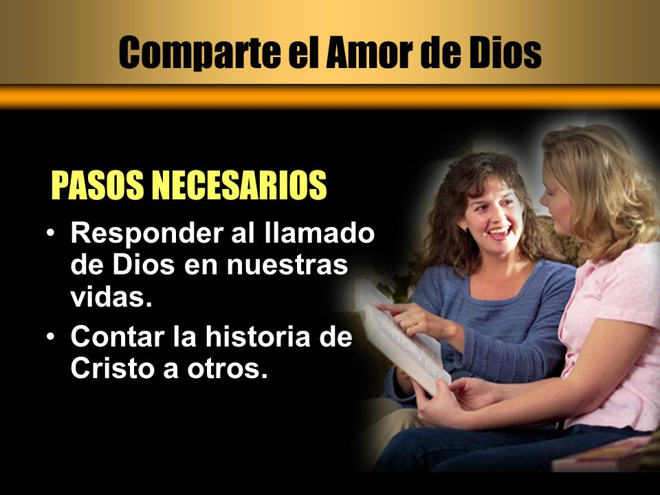 Comparte el Amor de Dios