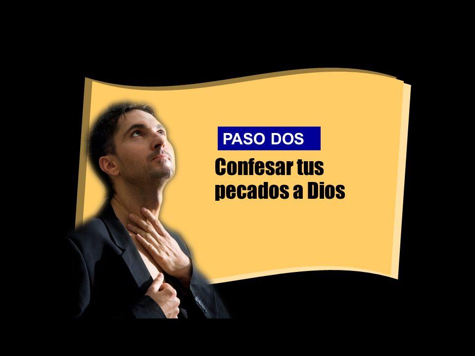 Confesar tus pecados a Dios