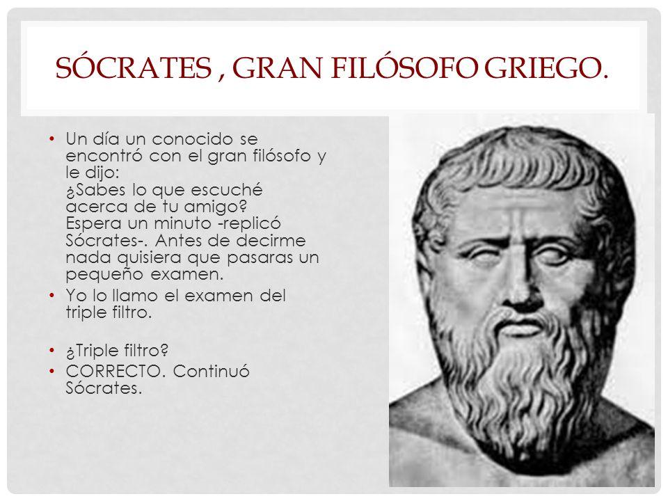 SÓCRATES , GRAN FILÓSOFO GRIEGO.