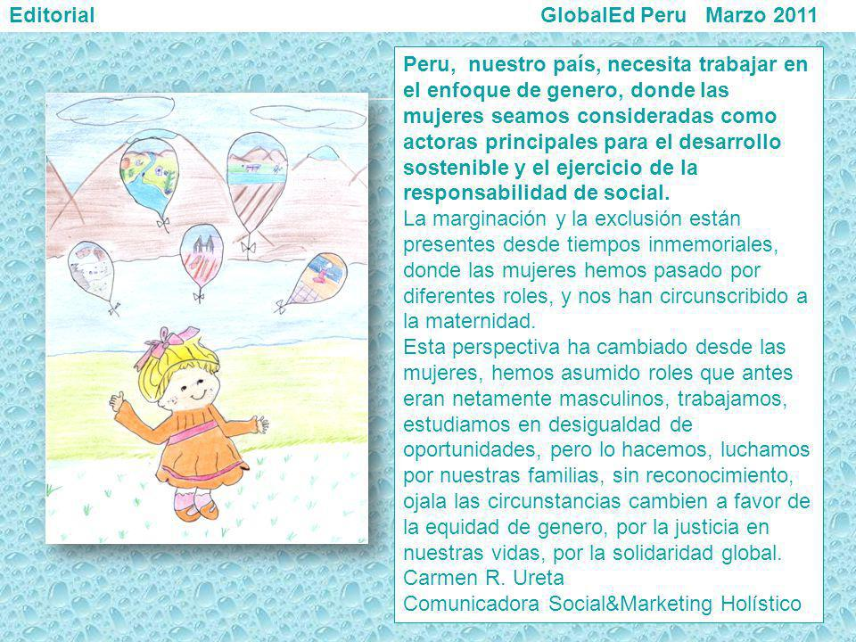 Editorial GlobalEd Peru Marzo 2011