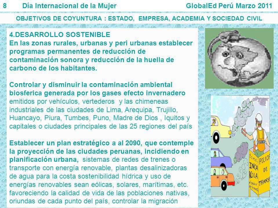 OBJETIVOS DE COYUNTURA : ESTADO, EMPRESA, ACADEMIA Y SOCIEDAD CIVIL