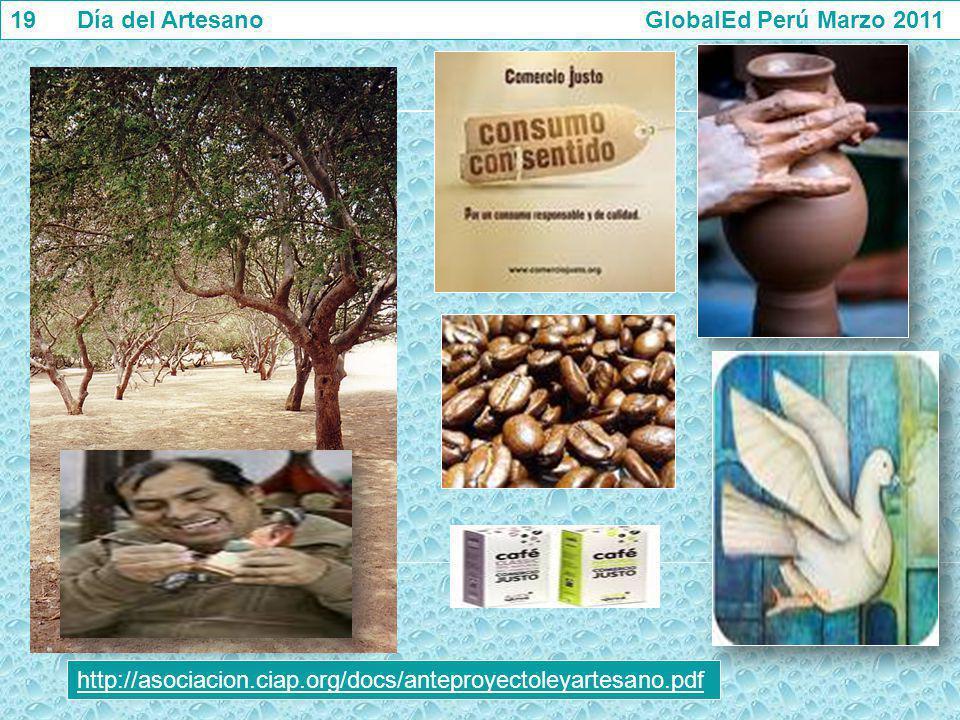 19 Día del Artesano GlobalEd Perú Marzo 2011
