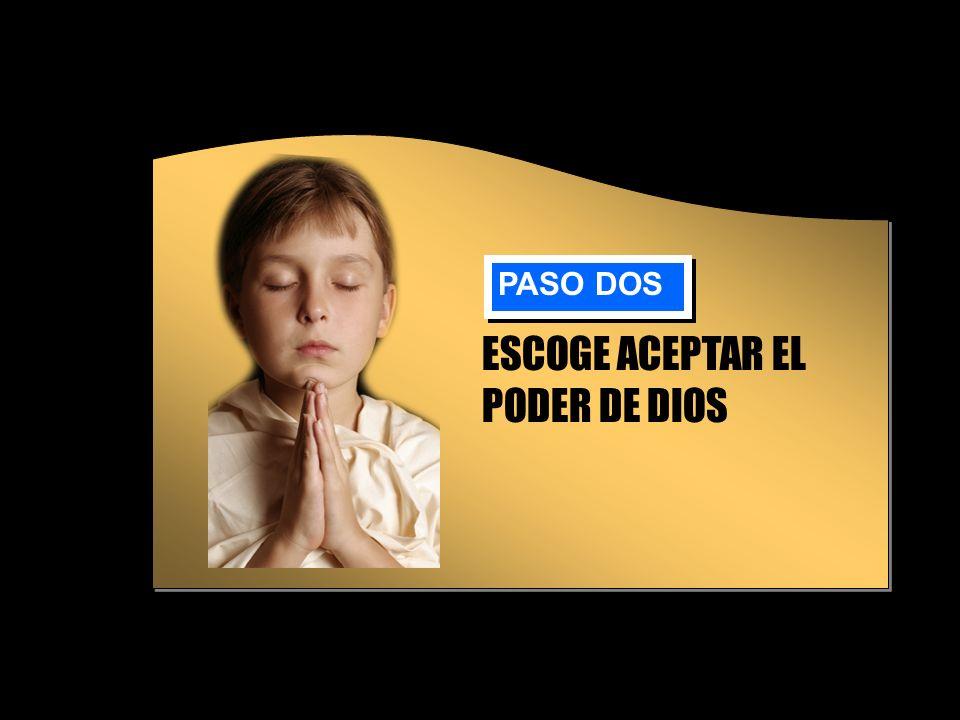 ESCOGE ACEPTAR EL PODER DE DIOS