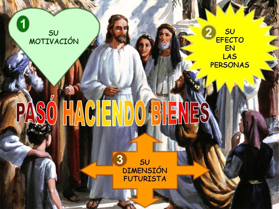 PASÓ HACIENDO BIENES 1 2 3 SU SU EFECTO MOTIVACIÓN EN LAS PERSONAS SU