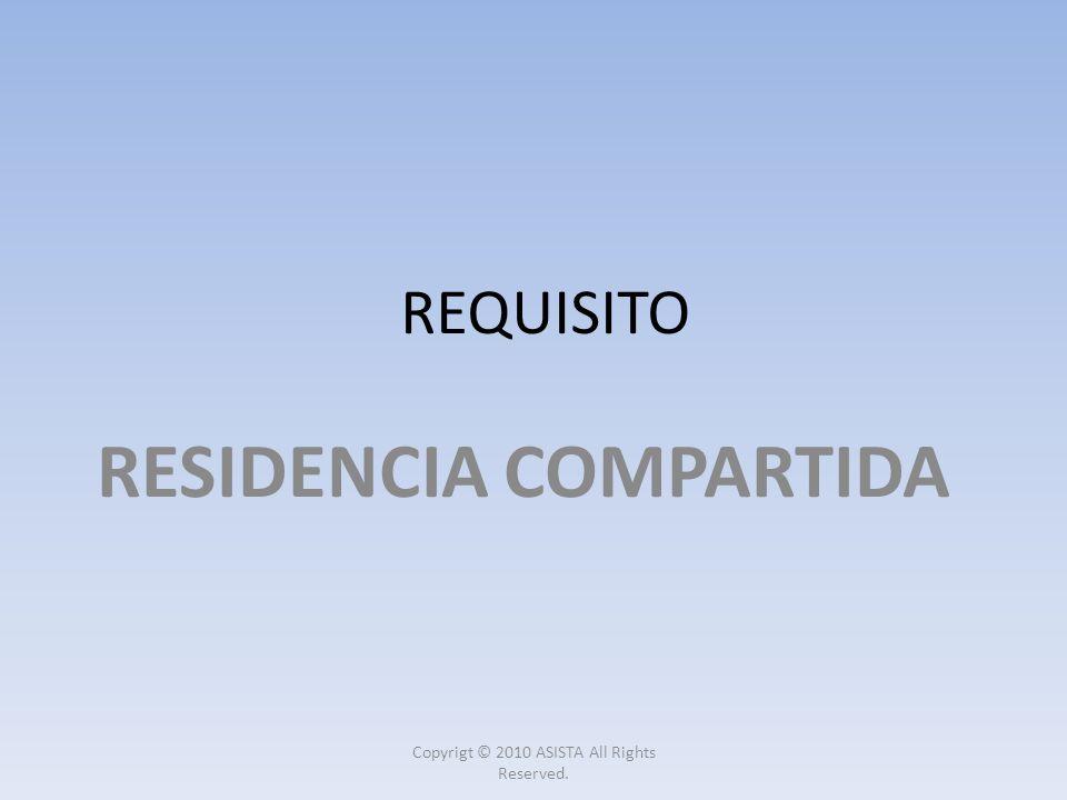 RESIDENCIA COMPARTIDA
