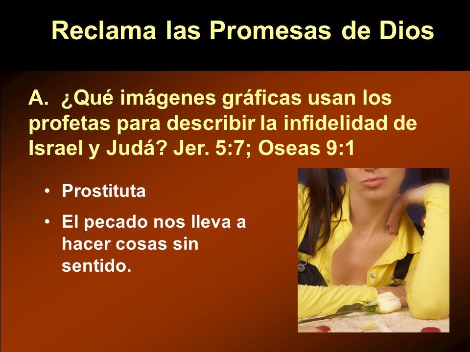 Reclama las Promesas de Dios