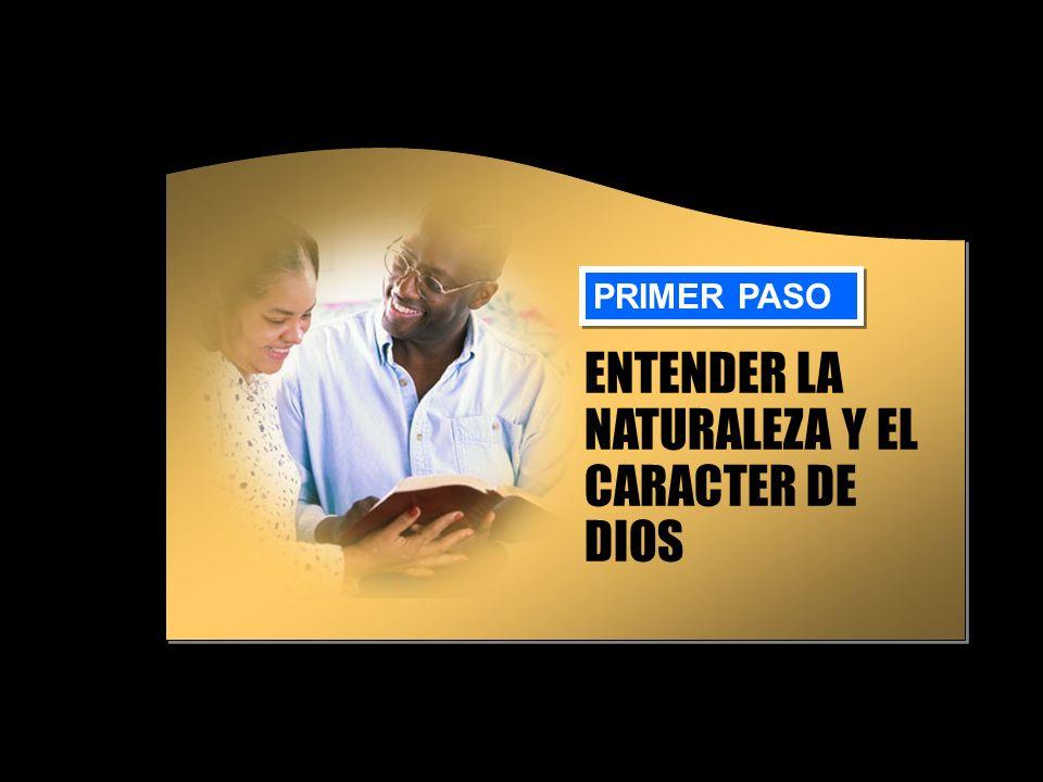 ENTENDER LA NATURALEZA Y EL CARACTER DE DIOS