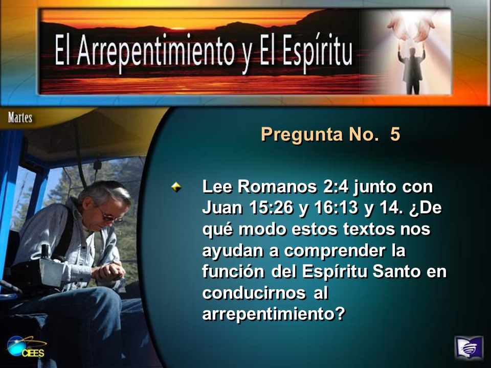 Pregunta No. 5