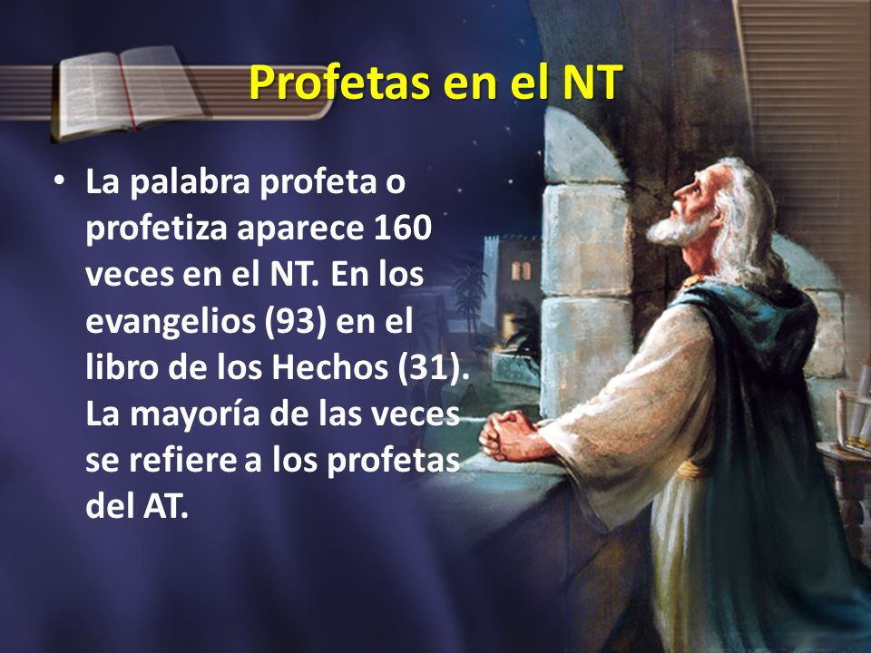 Profetas en el NT