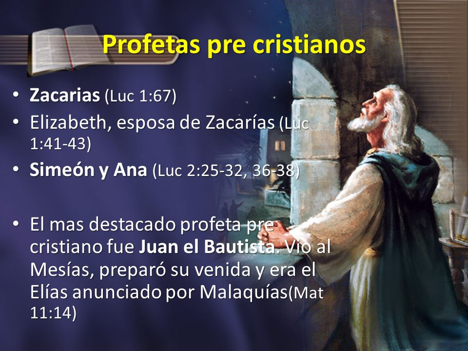 Profetas pre cristianos