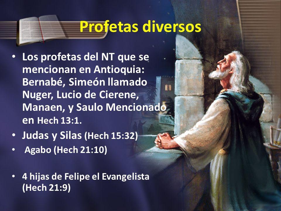 Profetas diversos