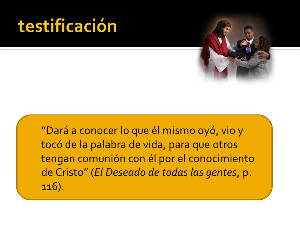 testificación