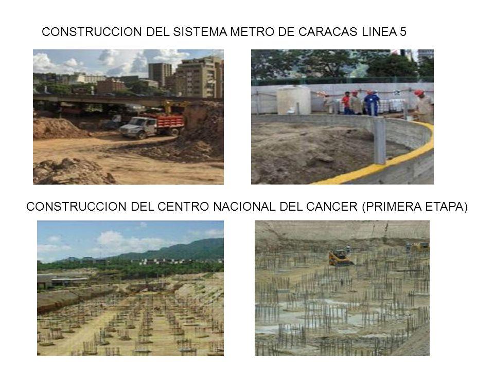 CONSTRUCCION DEL SISTEMA METRO DE CARACAS LINEA 5