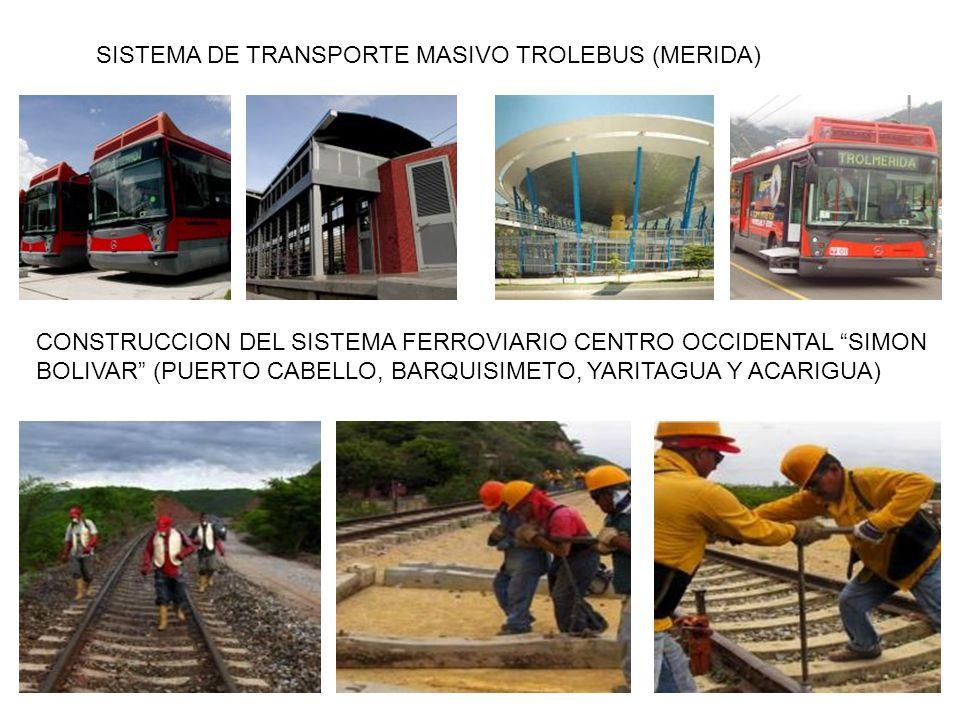 SISTEMA DE TRANSPORTE MASIVO TROLEBUS (MERIDA)