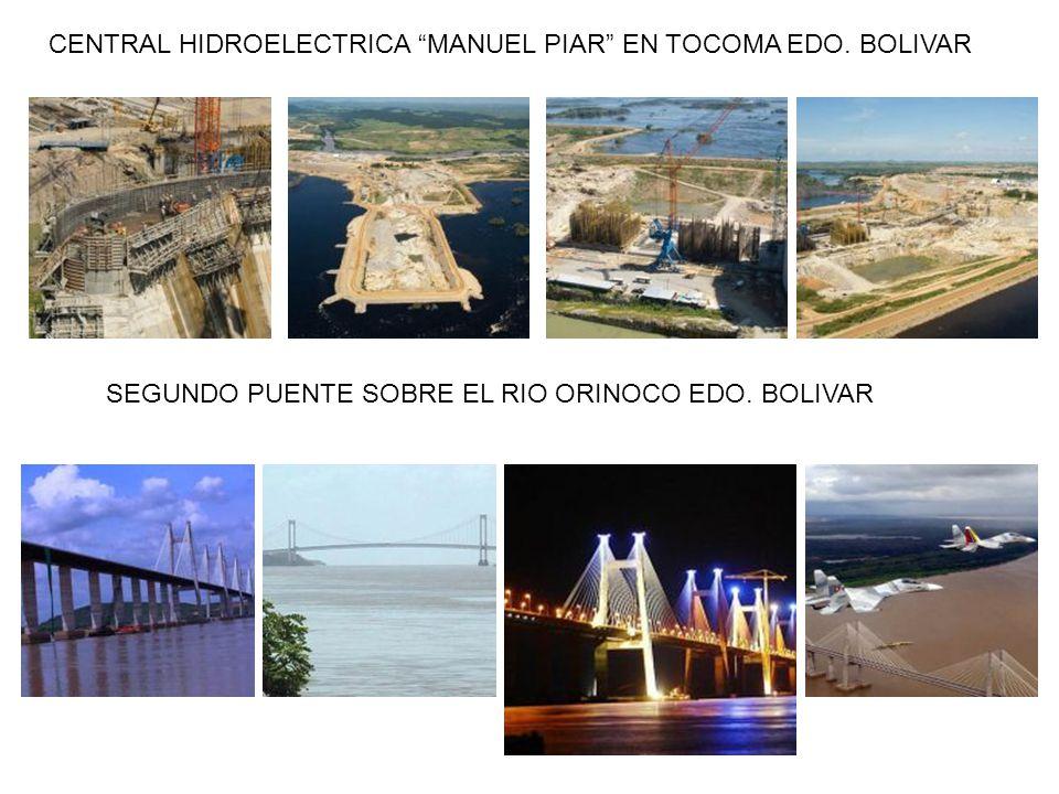 CENTRAL HIDROELECTRICA MANUEL PIAR EN TOCOMA EDO. BOLIVAR