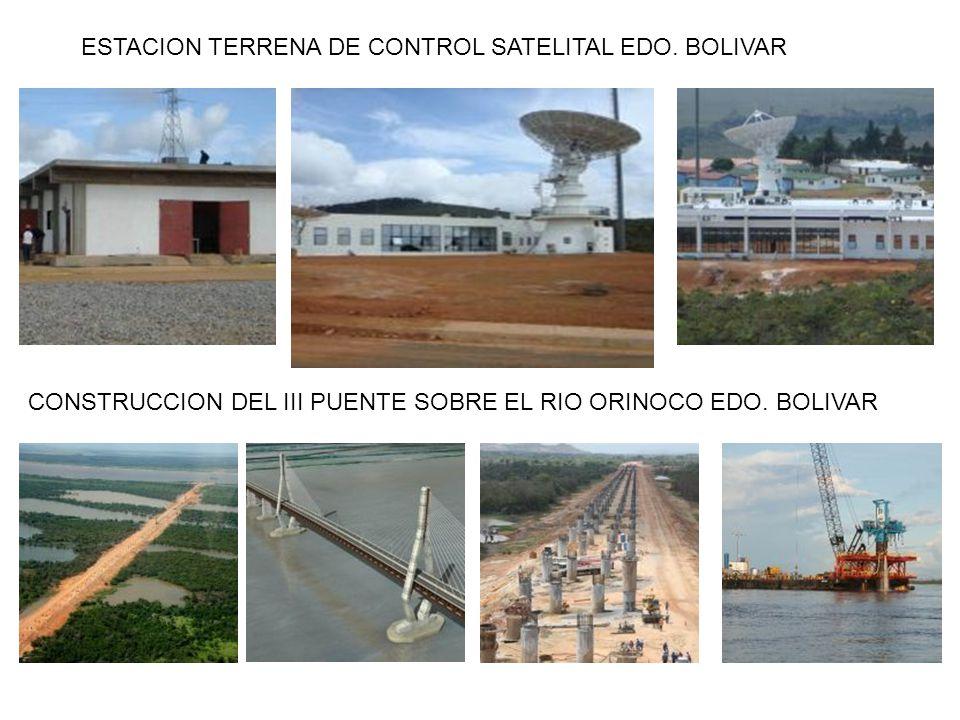 ESTACION TERRENA DE CONTROL SATELITAL EDO. BOLIVAR