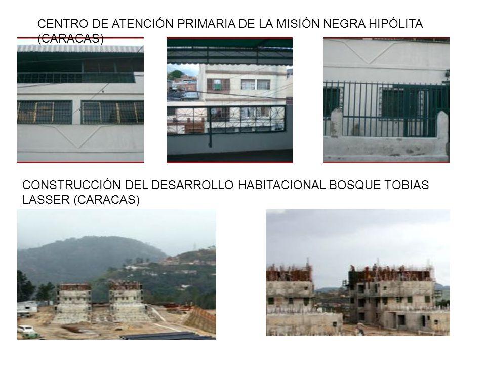 CENTRO DE ATENCIÓN PRIMARIA DE LA MISIÓN NEGRA HIPÓLITA (CARACAS)