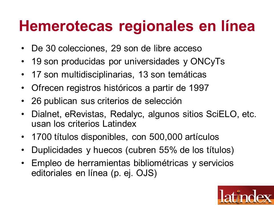 Hemerotecas regionales en línea