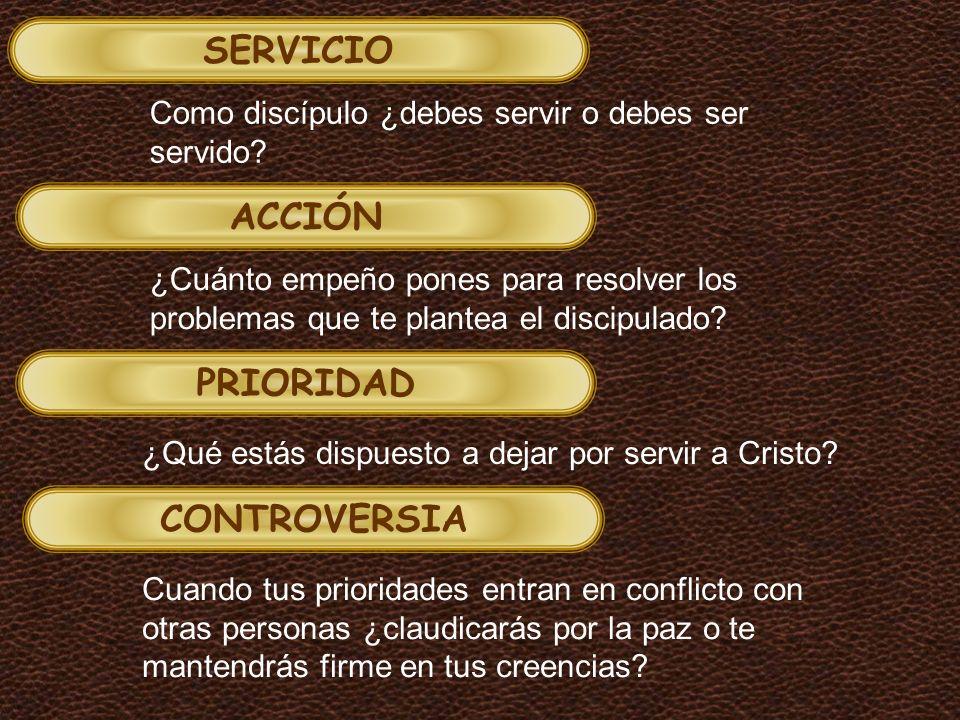 SERVICIO ACCIÓN PRIORIDAD CONTROVERSIA