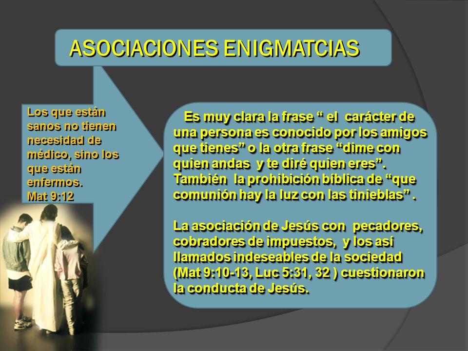 ASOCIACIONES ENIGMATCIAS