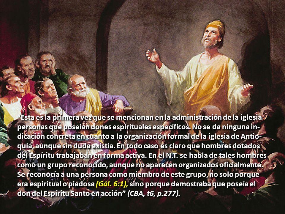 Profetas en el Campo Misionero.